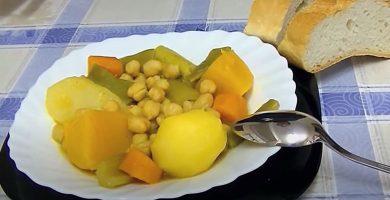 cocido de verduras